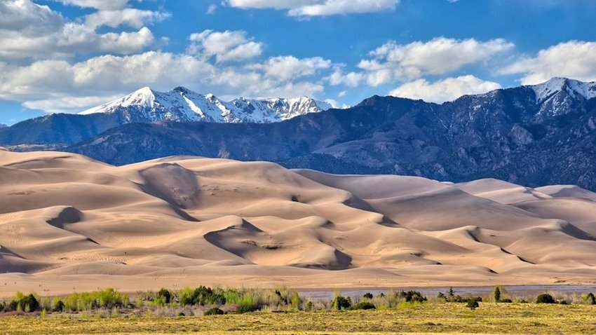 Photo of sand dunes in Great Sand Dunes National Park and Preserve