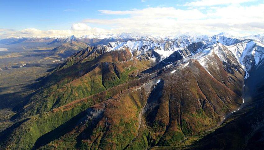 Photo of mountains in Wrangell-St. Elias