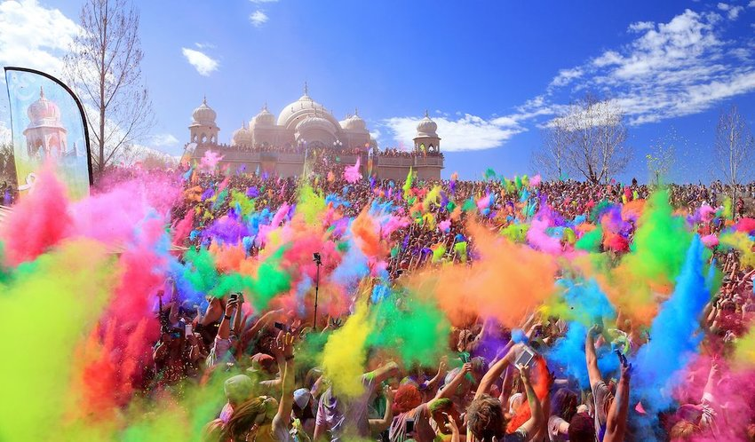 Your Guide to the Colorful Holi Festival