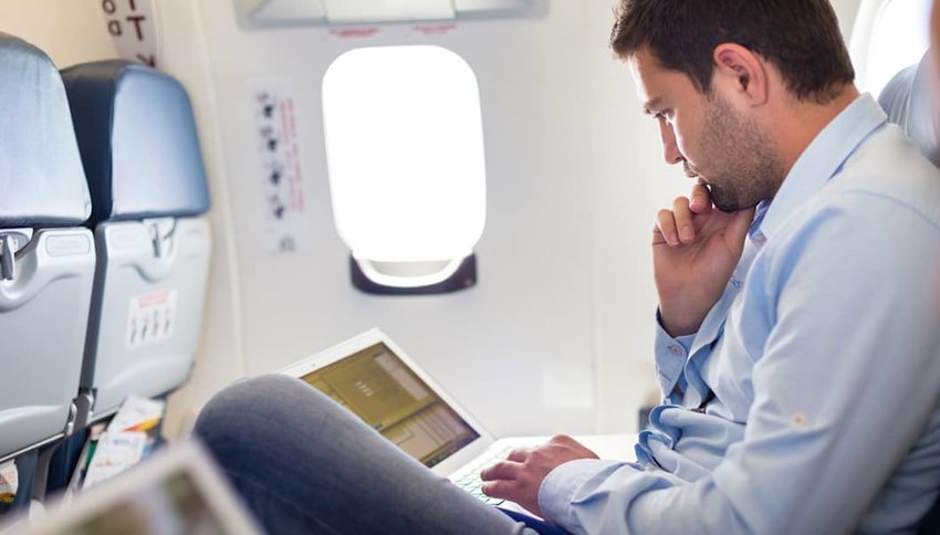 How to Get the Most Work Done on Your Next Flight