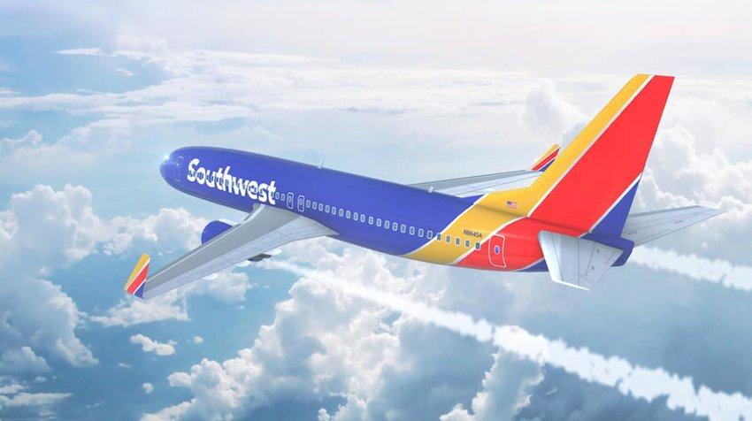Photo of a Southwest Plane