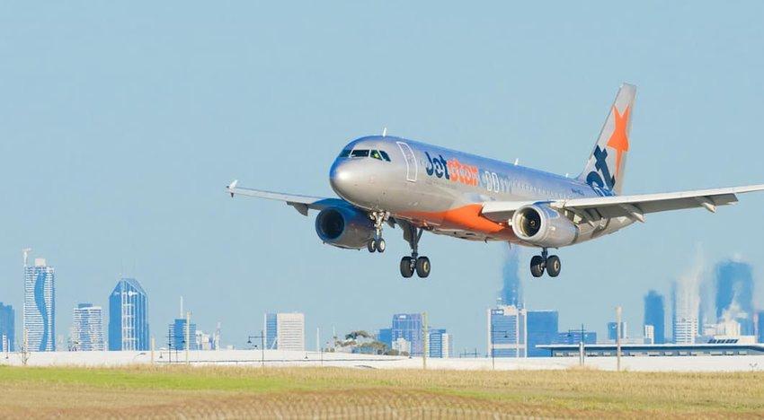 Photo of Jetstar plane