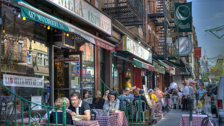 Little Italy in New York City,Manhattan