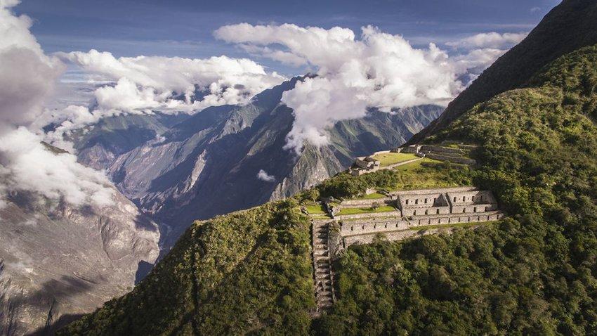 Encountering the Inca Outside Machu Picchu