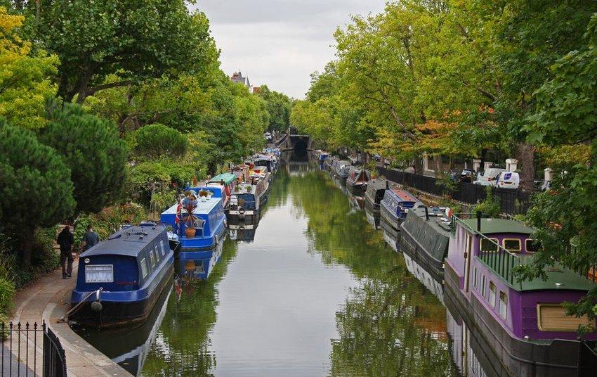Little Venice in London, England