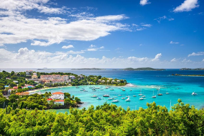 Cruz Bay, St John, United States Virgin Islands