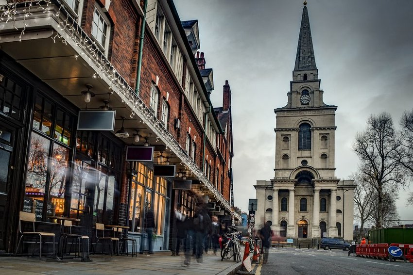 Spitalfields in London, England