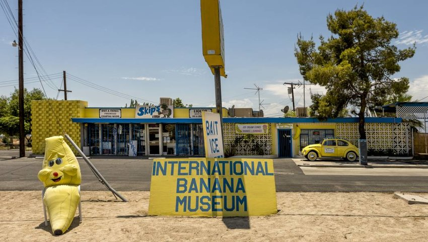 Mecca, California - International Banana Museum.