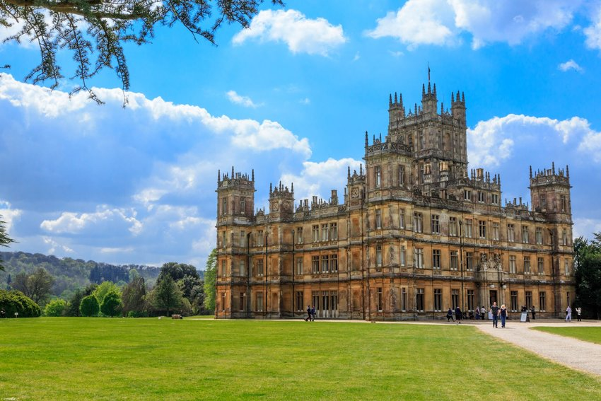 Now's Your Chance to Stay in the Real Downton Abbey