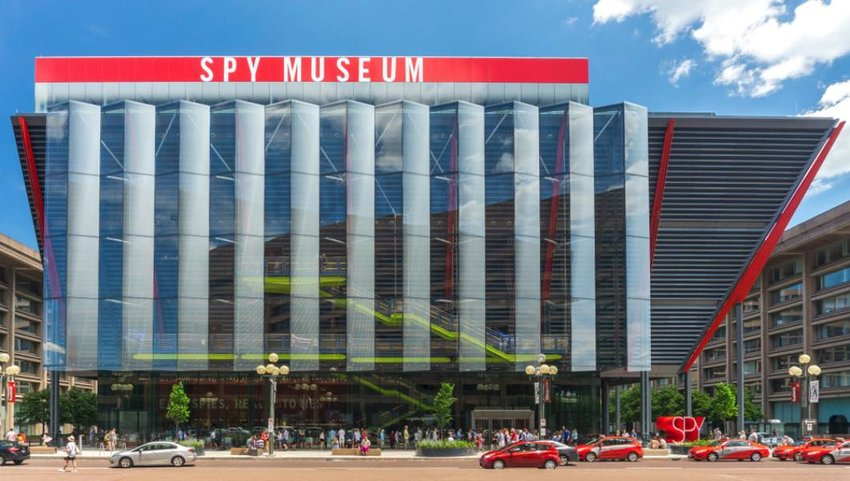 Washington, DC / USA. The International Spy Museum is doing record business at its new location,