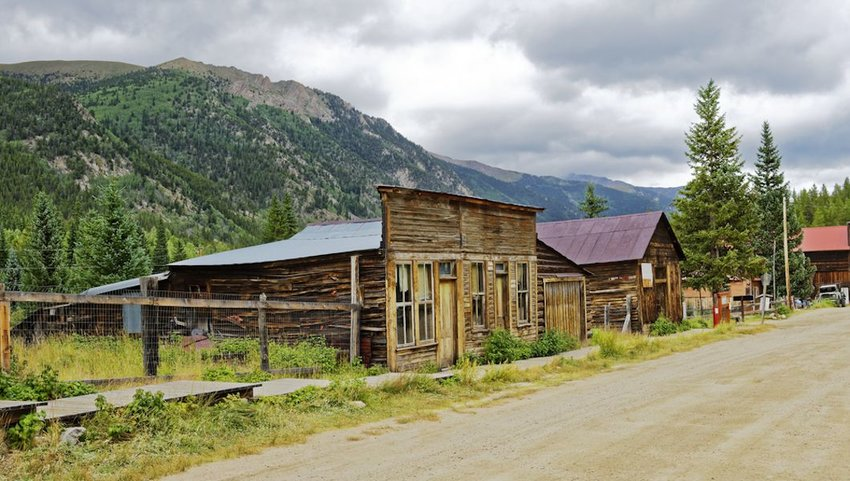 ghost town of St. Elmo near Buena Vista, Colorado