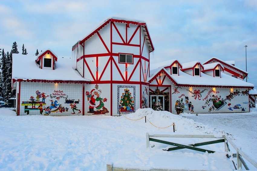 Santa Claus House in North Pole, Alaska
