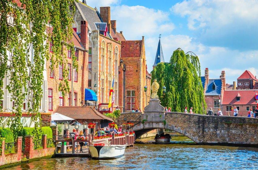 Old town of Bruges (Brugge), Belgium