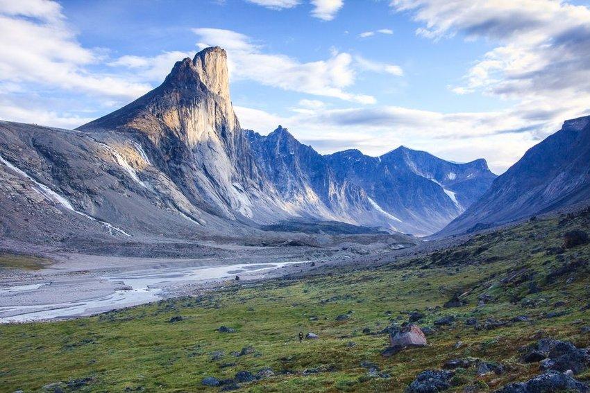 Mount Thor in Auyuittuq National Park, Nunavut, Baffin Island