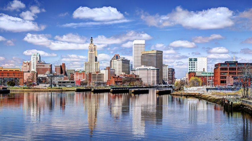 View of Providence, Rhode Island