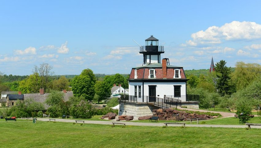 Colchester Reef Lighthouse in Shelbourne, Vermont