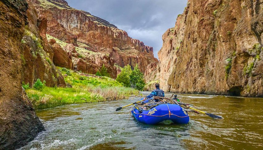 Rowing One of the World's Wildest Rivers: the Jarbidge-Bruneau