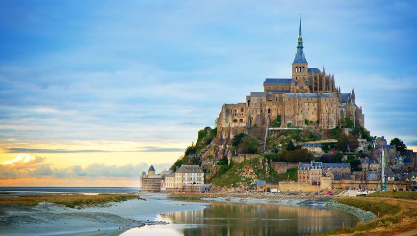 Mont Saint Michel in Brittany