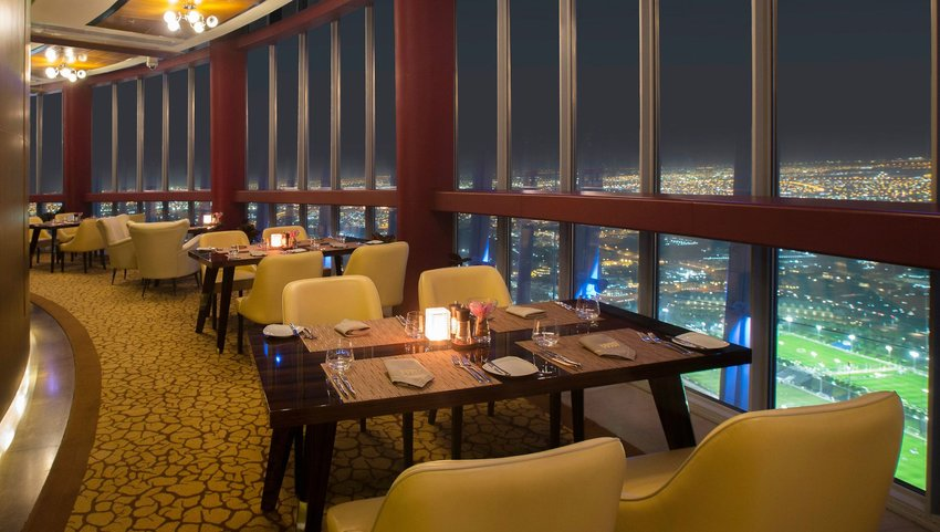 Restaurant with panoramic views