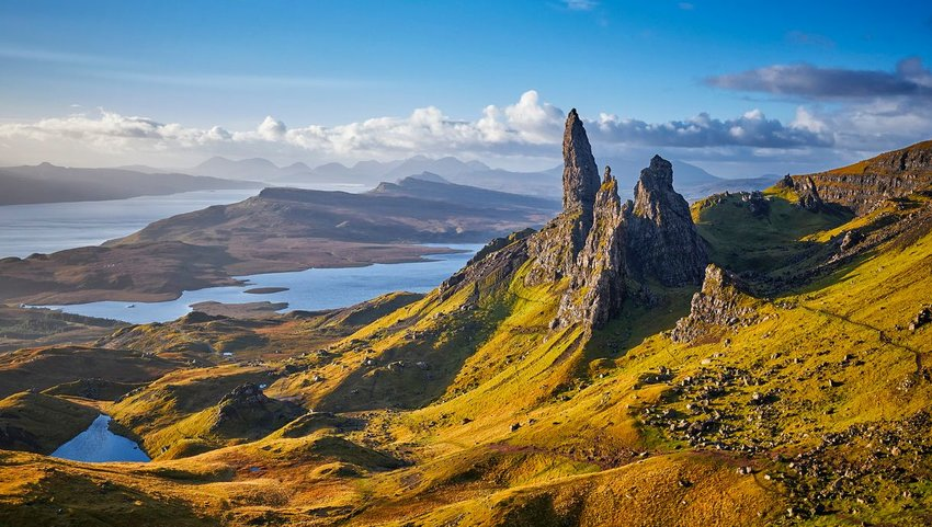 View of Skye, Scotland
