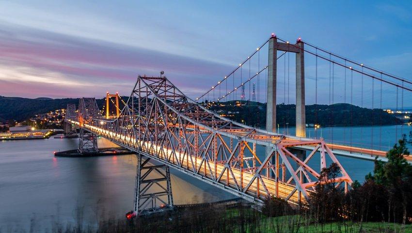 Bridge in California