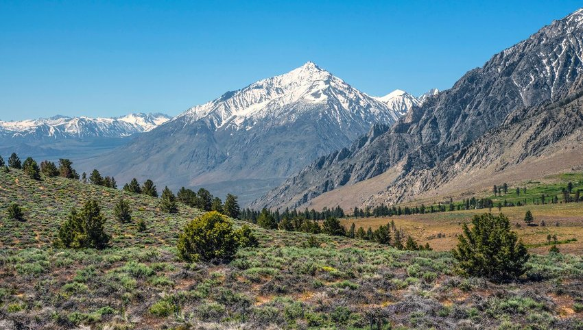 Sierra Nevada in Bishop, California