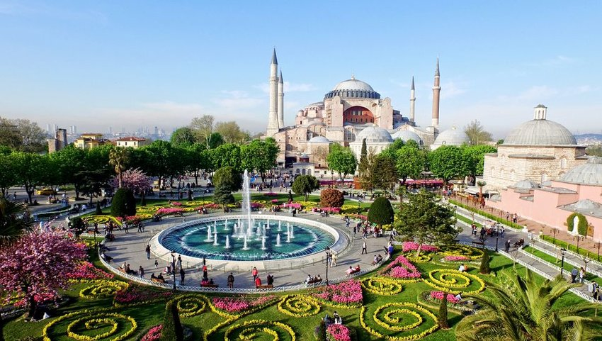 Gardens in Istanbul