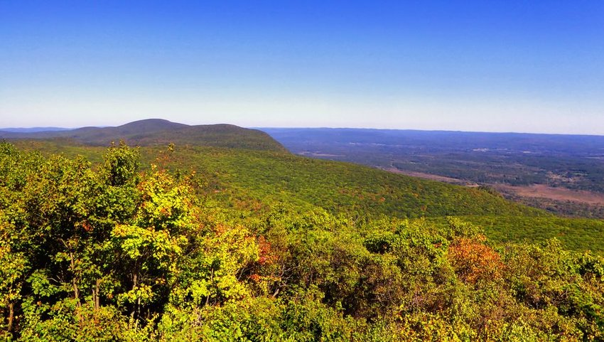 Bear Mountain, in the southern Taconic Mountains
