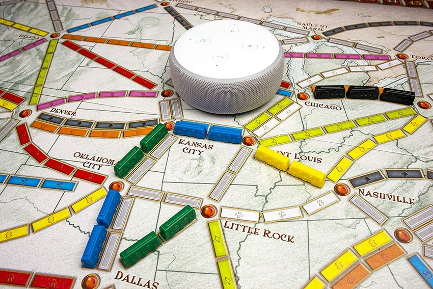 You can even play Ticket to Ride against Alexa.