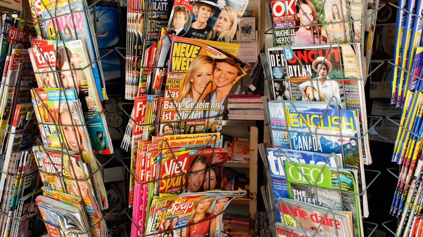 Foreign language magazines