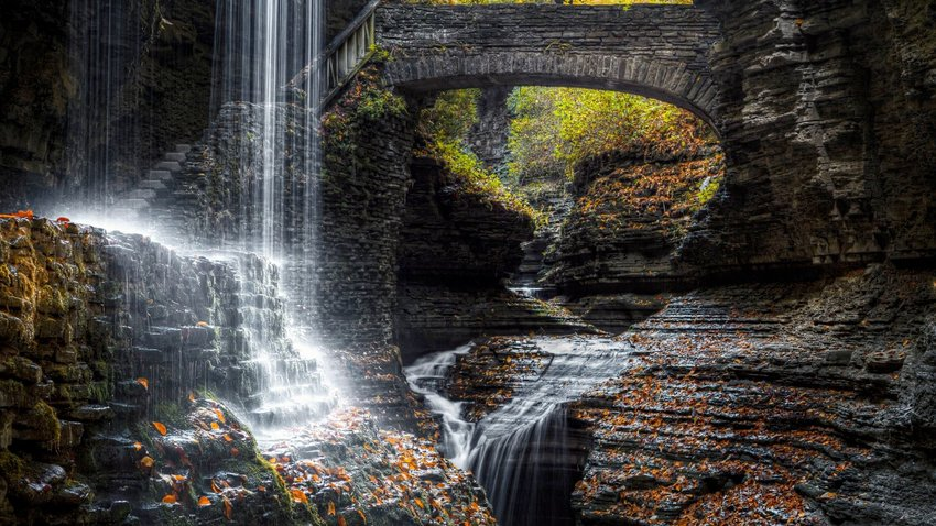 Rainbow Falls, New York