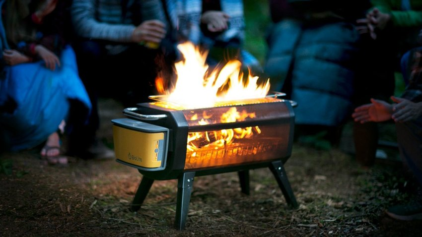 BioLite's Portable FirePit Reinvented the Campfire