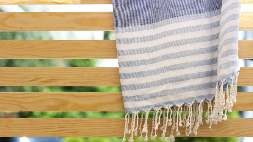 Turkish Towels Are Great In Your Bathroom, And Even Better At the Beach