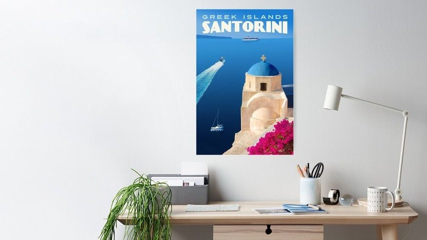 Why You Should Celebrate Your Favorite Destinations With Vintage Travel Posters