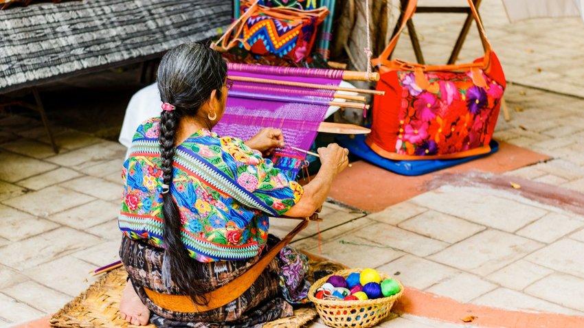 How Guatemala's Women Weavers Keep Mayan Tradition Alive