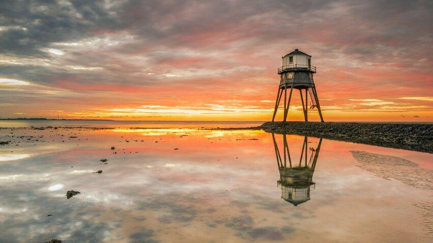 Dovercourt Bay Lighthouse. Photo by Philip Ellard.