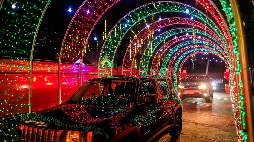 The Best Drive-Thru Christmas Lights in the U.S.